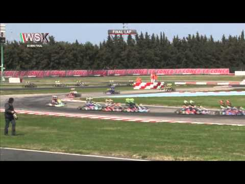 WSK SUPER MASTER SERIES 2015 ROUND3 60 Mini FINAL