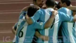 Argentina vs Paraguay 3-1 All Goals and Highlights 7/9/12 [World cup Qualifier]