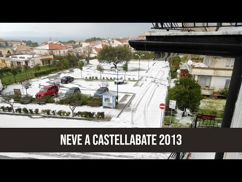 9 febbraio 2013 neve a Castellabate