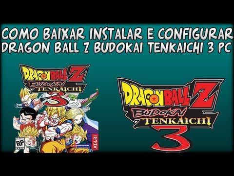 Como Baixar Instalar e Configurar Dragon Ball Z Budokai Tenkaichi 3 PC (2012) [Com Emulador Wii]