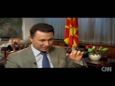 Macedonia PM on present and future - CNN i-List