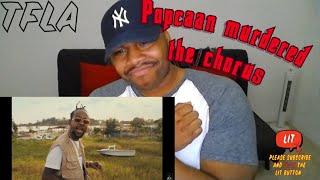 Popcaan - Dun Rich (feat. Davido) [Official Video] | (TFLA) Reaction