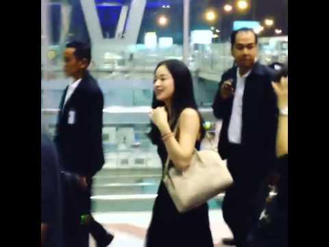 2014.08.31 คิมแทฮี(Kim Tae Hee) @ Suvarnabhumi Airport 1