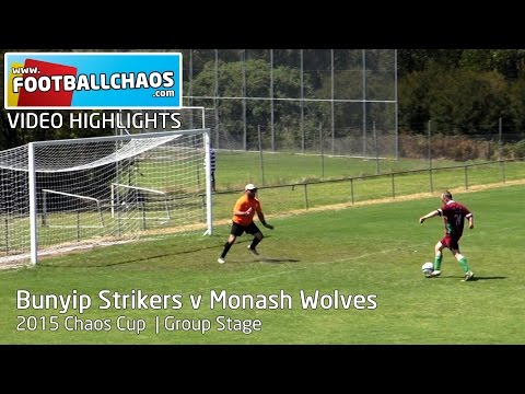 2015 Chaos Cup - Bunyip Strikers v Monash Wolves
