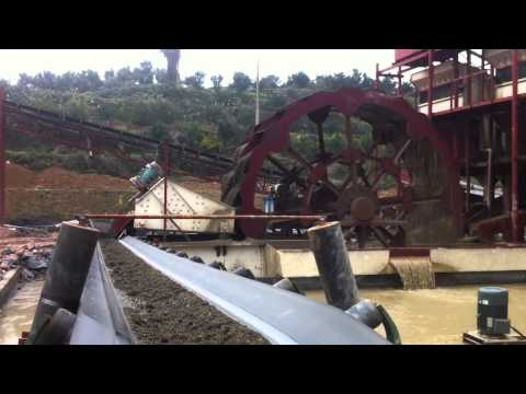 sand washing,lavadora de arena,crusher machine,trituradora