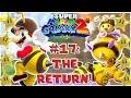 Super Mario Galaxy 2: #17: Flipville Galaxy & Honeyhive Galaxy (1080P)