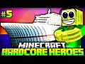Das TURBOSCHIFF 9000!! - Minecraft Hardcore Heroes 3 - #05 [Deutsch/HD]