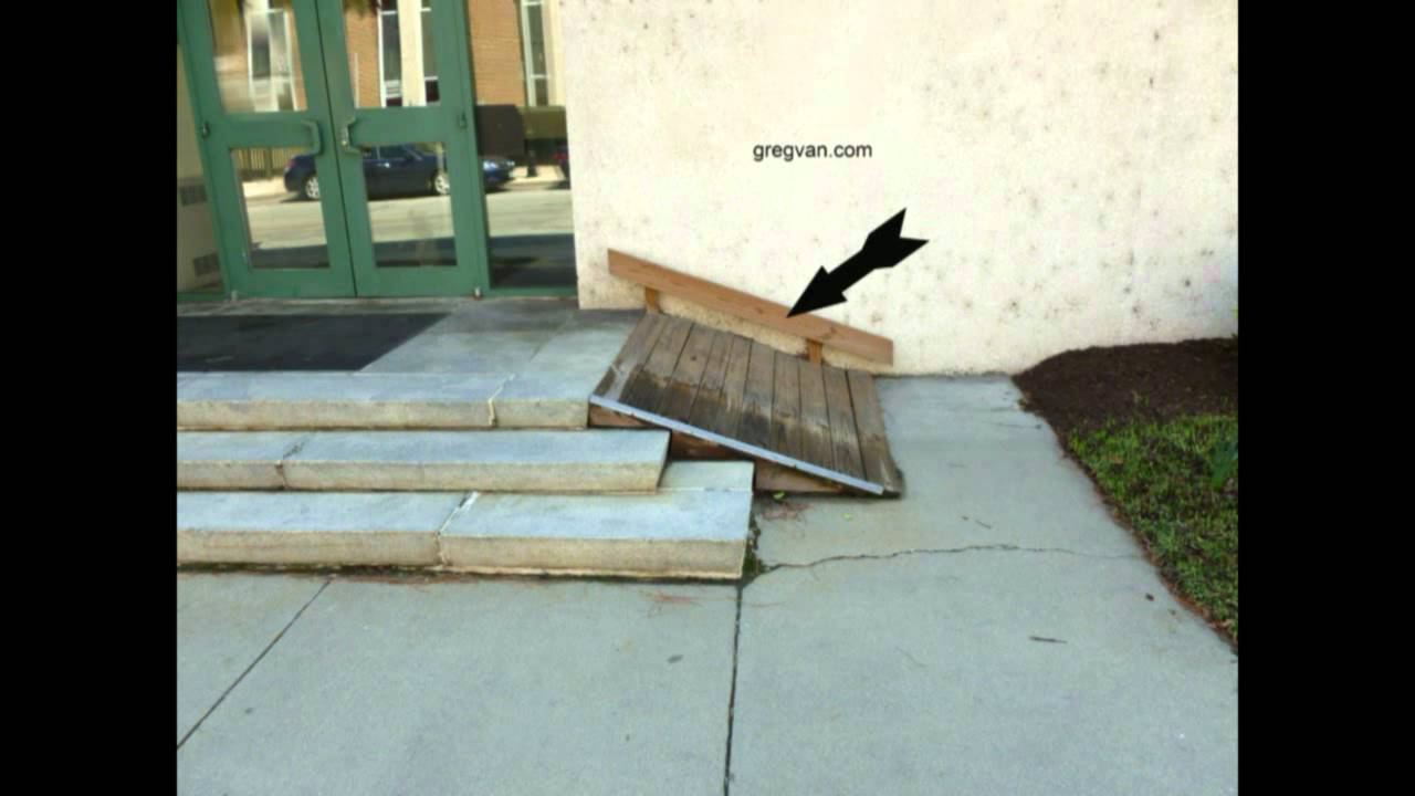 Donu0026#39;t Build Steep Ramps - Renovations For Disabled Individuals - YouTube