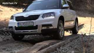 Skoda Yeti 2014 off-road test - YETI SNOW DRIVE 2014