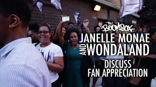 Janelle Monae and Wondaland Discuss Fan Appreciation on The Eephus Tour