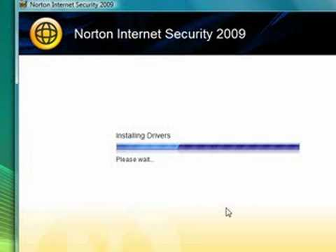 Symantec Norton Internet Security Install