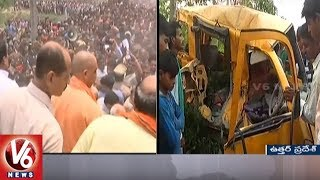 13 Children Lost Life In Up Bus Accident; Driver's Fault, Says Yogi Adityanath