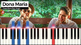 download musica 💎💎💎Como tocar Dona Maria Piano tutorial💎💎💎