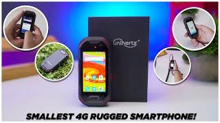 The Smallest Rugged 4G Smartphone - Unihertz Atom