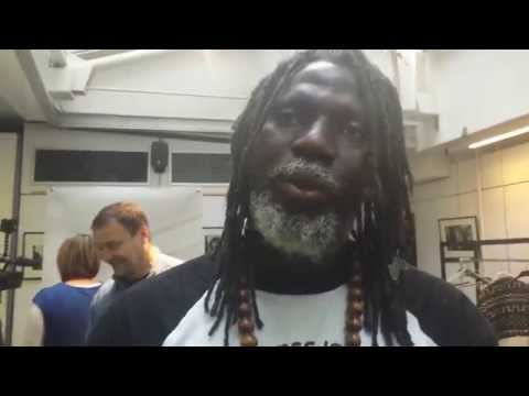 "Tiken Jah Fakoly, conférence de presse ""Africa Stop Ebola"""