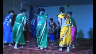 Chhattisgarh Folk Song and Dacne by School Girls Bilaspur