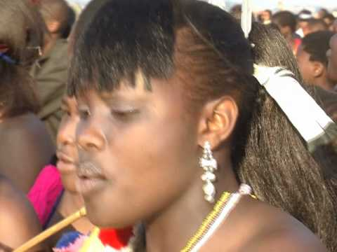 Reed Dance 2011 Swaziland (edited For American Tv) video