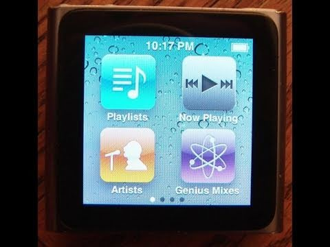 How To Restore An ipod Nano 6th Generation To Factory Settings
