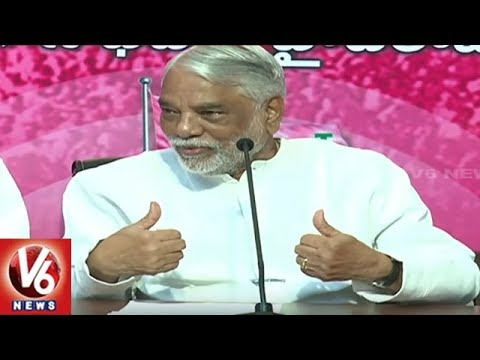 K Keshava Rao Spoke to Media about TRS Manifesto | V6 News