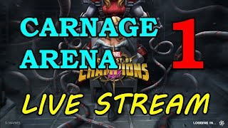 Carnage Arena - Round 2 - Part 1 | Marvel Contest of Champions Live Stream