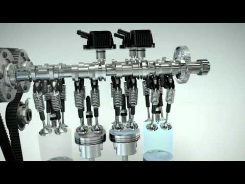 Audi A1 Sportback cylinder-on-demand animation