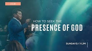 How to Seek the Presence of God - Apostle Guillermo Maldonado | March 25, 2018