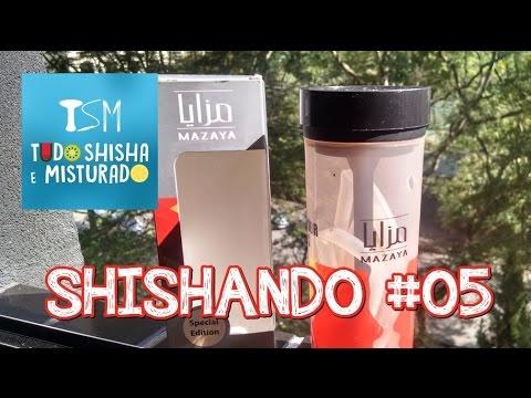 Shishando #05 - Arguile Portátil Mazaya