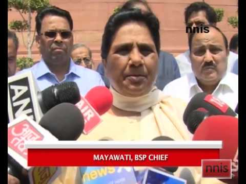 Mayawati Says India Must Learn From Quake Damage In Nepal
