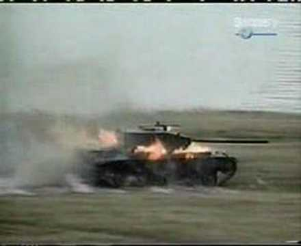Bill2 destroying a tank