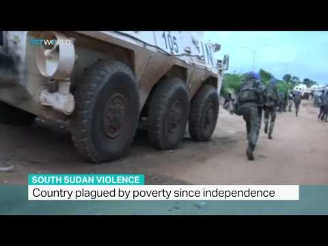 Renewed gunfire breaks out in South Sudan David Lomuria reports from Juba