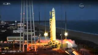 Huge Explosion NASA Antares Rocket Launch Failure Live Full