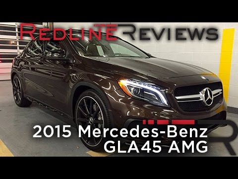 Redline Review: 2015 Mercedes-Benz GLA45 AMG