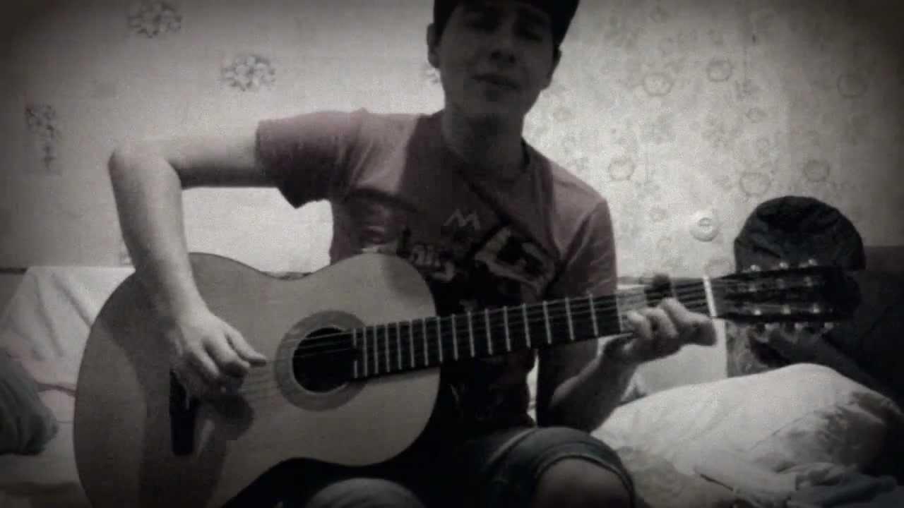 Смотреть онлайн в этом видео уроке я показываю как играть на гитаре bahh tee бахти - любви достойна только мама