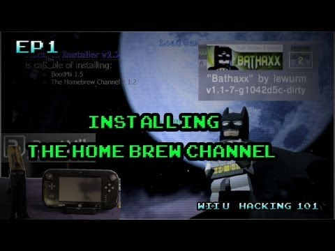 Wii U Hacking 101 EP1 - Installing the Homebrew Channel