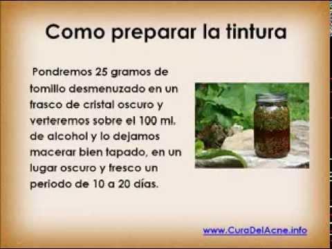 Tratamiento natural para el acné