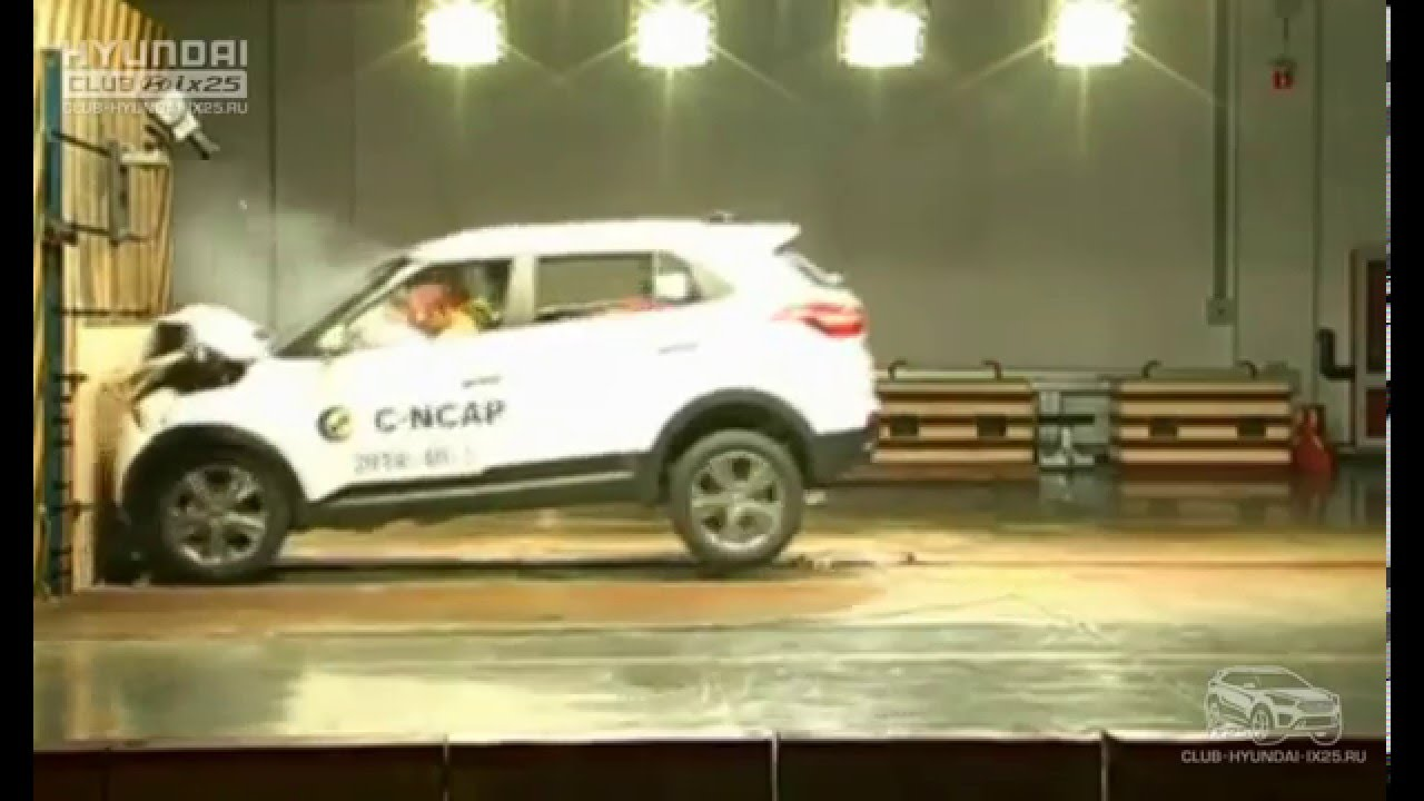 Crash Test Hyundai Creta / ix25 - YouTube