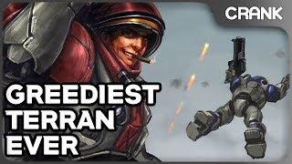 Greediest Terran Ever - Crank's Variety StarCraft 2