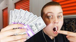 Finding Money In Storage Unit! Over $1,000 Cash in $70 Unit! Storage Unit 2