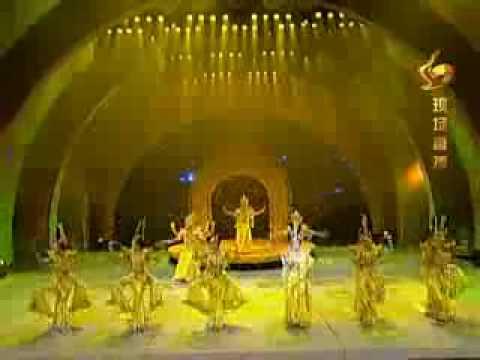 Compañía china de arte y danza para discapacitados Thousand Hand Guan Yin