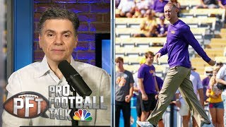 Joe Brady's arrival in Carolina may push Cam Newton out | Pro Football Talk | NBC Sports