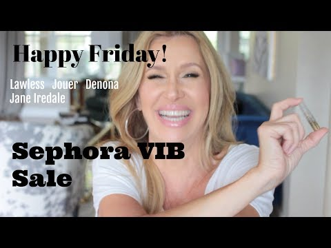 Happy Friday! Sephora VIB Sale Haul