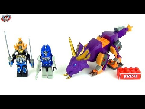 KRE-O Transformers 4 Age Of Extinction: Dinobot Charge Toy Review & Unboxing, Hasbro
