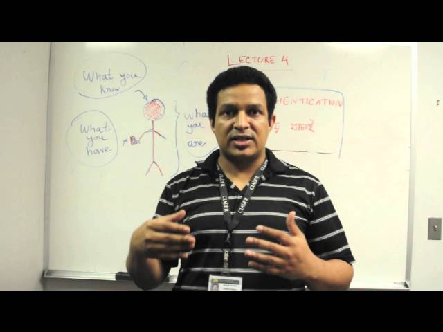 Jontrogonok - Authentication - Security 101 - Lecture 04 [HD]