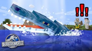 Charlie the Liopleurodon!!! - Dinosaurs In Minecraft | Jurassic World - Ep6