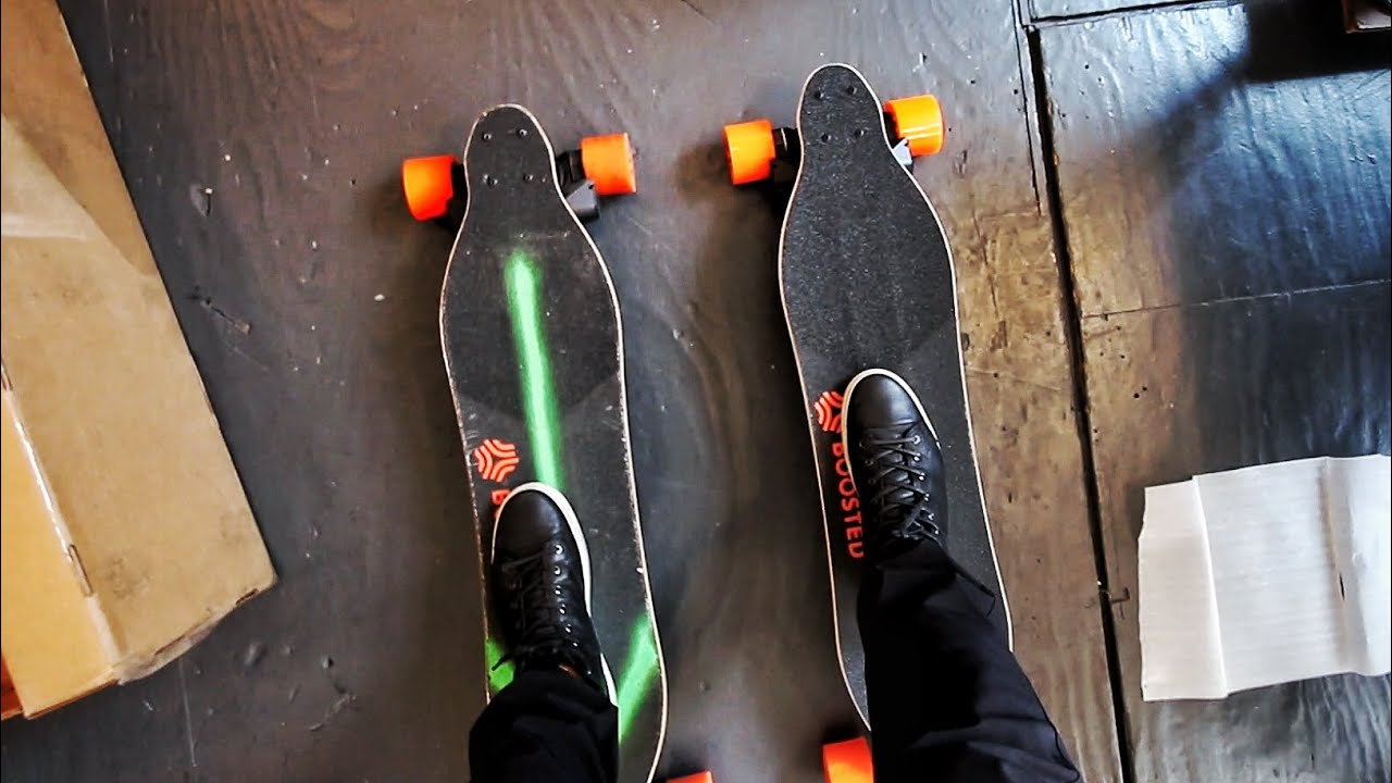 TWO High-Powered Electric Skateboards