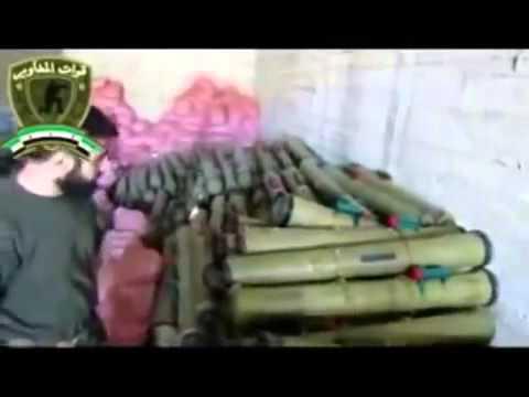 Les missiles antichars Milan de fabrication FRANCAISE dans les mains des mercenaires en Syrie