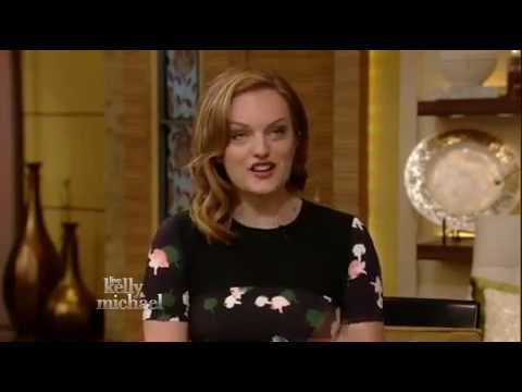 Elisabeth Moss First Role! - Live With Kelly and Michael! (August 13, 2014)