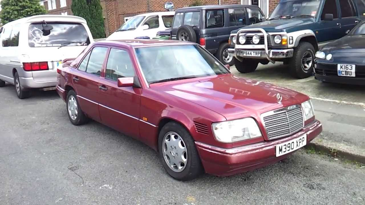 Mercedes benz e300 w124 diesel om 606 for sale youtube for Mercedes benz watch for sale