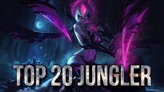Top 20 JUNGLER Plays #05 | League of Legends