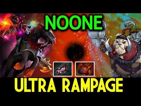 NOONE Dota 2 [Chaos Knight] ULTRA RAMPAGE VS Singsing ft Zai